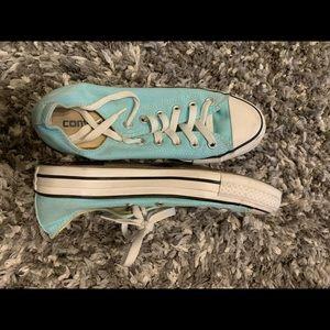 Converse Shoes - Sky blue Converse